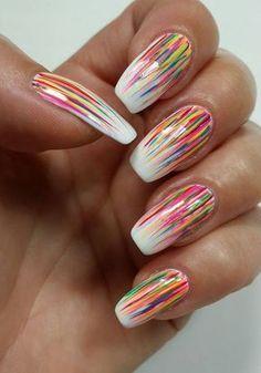 46 Super Easy Summer Nail Art Designs