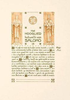 8: Hooglied van Salomo,ill.vdLeck/Klaarhamer,1905 : Lot 8