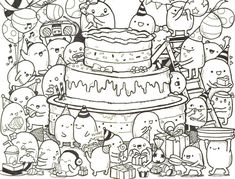 58 Best Happy Birthday coloring Pages images | Birthday ...