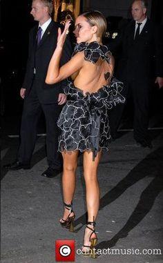 Victoria Beckham, CFDA Fashion Awards ~ Roberto Cavalli Dress & Shoes
