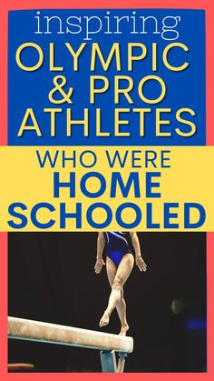 Olympic homeschoolers and famous professional homeschool athletes to inspire your kids in their home school studies, Olympic lesson plans, and when playing homeschooling sports! #homeschoolsports #olympics #homeschooling Teacher Lesson Plans, Free Lesson Plans, Preschool Lesson Plans, Lesson Plan Templates, Olympic Games For Kids, Athletic Scholarships, How To Start Homeschooling, Bible Lessons For Kids, School Football