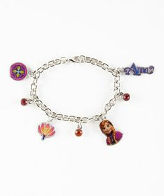 Another great find on #zulily! Frozen Charm Bracelet #zulilyfinds