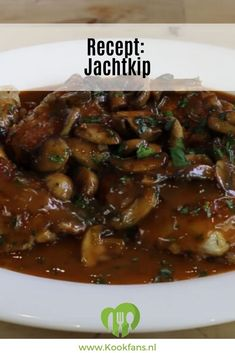 Dutch Recipes, Cooking Recipes, Healthy Recipes, Diner Party, Pasta, Winter Food, High Tea, How To Cook Chicken, I Foods