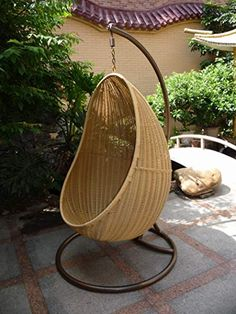 More click [.] Hanging Lounge Chair Swing Get Quotations Rattan Swing Outdoor Patio Wicker Swing Lounge Chair Hanging Egg Chair Hammock Inch Alibaba Group Cheap Hanging Lounge Chair Find Hanging Lounge Chair Deals On Line Wicker Swing, Egg Swing Chair, Hanging Egg Chair, Hammock Chair, Swinging Chair, Swing Chairs, Lounge Chairs, Patio Chair Cushions, Diy Chair