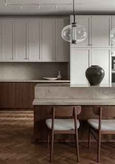 Scandinavian Asian fusion kitchen - COCO LAPINE DESIGNCOCO LAPINE DESIGN
