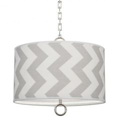 Small Patterned Meurice Pendant Lamp - Powder Room