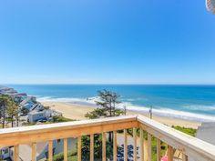 Admire the ocean from this elegant beach... - HomeAway Nelscott
