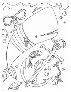Whale Coloring Contest! by LisaPerrinArt, via Flickr