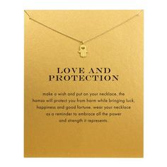 Gold Plated Sparkling Hand Pendant Necklace - onefav.store