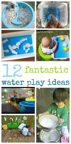 Fantastic water tub ideas!