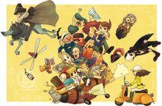 Professor Layton characters