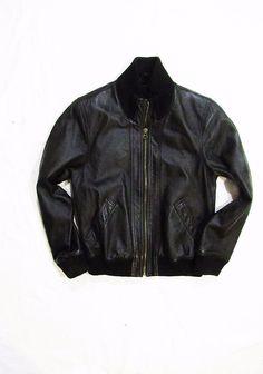 kids jacket bomber genuine leather Detroit 9 years #Detroit #BasicJacket #Everyday