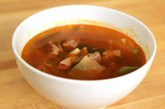 Spicy radish and beef soup Maeun mooguk 매운 무국