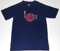 PHISH 2009 Fenway Boston Majestic Tour T Shirt S SMALL Band Logo Concert Tee #Majestic #GraphicTee