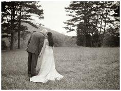 Vintage Mountainside Wedding