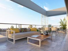 Estepona apartment for sale € 283,000 | Reference: 6517900 Outdoor Sofa, Outdoor Decor, Pent House, Apartments For Sale, Elegant Homes, Malaga, Bedroom Apartment, Contemporary Design, Townhouse