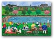 Lots to Watch, Inverleith Park - SOLD  » Click to zoom ->