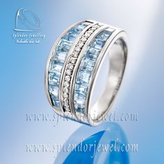 White gold wedding band adorned with diamonds.