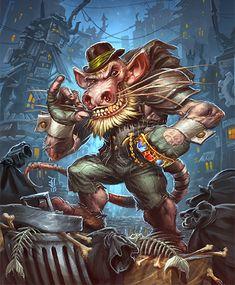 Card Name: Dirty Rat Artist: Dany Orizio
