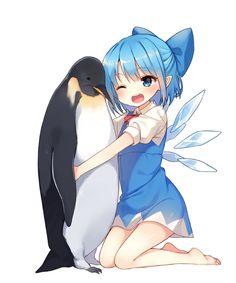 「あつきゅ」/「シノバ」のイラスト [pixiv] #Cirno #penguin