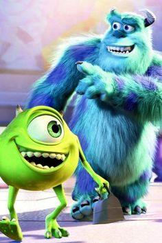 Monsters Inc. Background