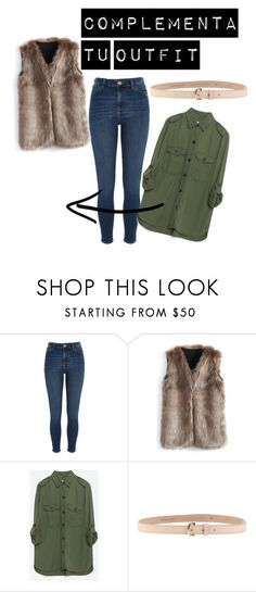 """""""M,M"""" by claudia-ut on Polyvore featuring moda, River Island, Chicwish, Zara y Dsquared2"""