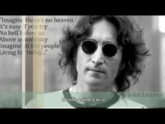 John Lennon  ~ ♪♬  Imagine * HD