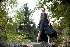 Mesh and lace top/Novelty skirt #MDDCollection #blacksilkskirt #meshandlace #alternativebride