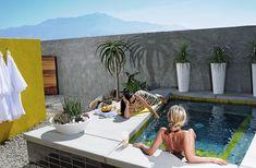 Veronica & I - Hotel Lautner (http://www.architecturaldigest.com/resources/travels/2012/01/hotel-lautner-article)