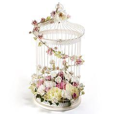 Wire bird cage