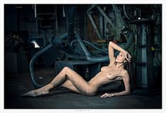 Maria, Reclining, Machines ~ from a limited edition of 10 ** For more information, visit image link.