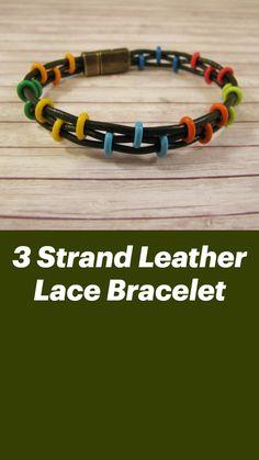 Diy Bracelets Patterns, Diy Friendship Bracelets Patterns, Diy Bracelets Easy, Handmade Bracelets, Making Bracelets With Beads, Woven Bracelets, Handmade Wire, Paracord Bracelets, Bracelet Making