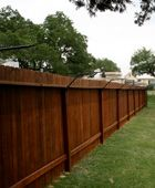 Purr...fect Fence. Cat-proof fence keeps cats safely in their own yard.