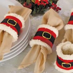 Christmas Products Napkin Set Of 4 Pieces For A Christmas