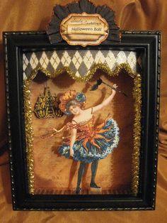 Halloween Shadow Box. By: My Creative Life Diary: Halloween Greetings....