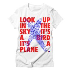 T-Shirt, hip-hop, quotes, rap, etching, classic, 90s, Redman, Methodman, Look up in the sky it'a bird it's a plane, #shirt #quotes #etching #classic #90s    Available at https://dotdot.threadless.com