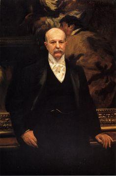 Peter A. B. Widener 1903. Джон Сингер Сарджент