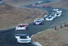 1987 Riverside California IMSA GTP race