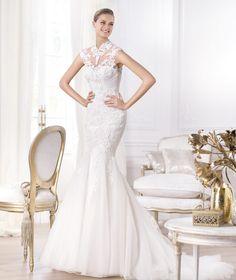 Pronovias präsentiert Ihnen das Modell Leroig. Fashion 2014.   Pronovias
