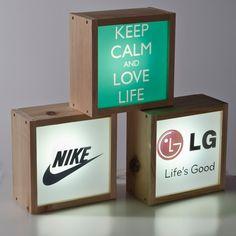 Caja de luz para publicidad de empresa y eventos. Personalizados, originales y exclusivos.