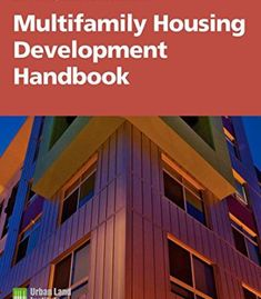 Multifamily Housing Development Handbook (Development Handbook series) PDF