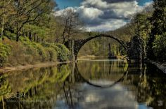 Rakotzbrücke by underexposedandblurred