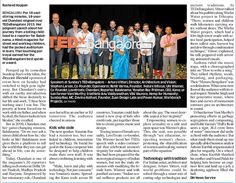 For 18 soul-stirring minutes, Chandani reigned over TEDxBangalore Social Media Impact, Auditorium, Reign, Compassion, Innovation, Celebration, Childhood, October, Journey