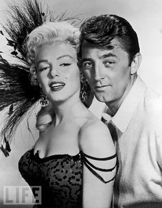 Marilyn Monroe Goes West With Robert Mitchum  Monroe plays a saloon singer opposite Mitchum's ex-con in the 1954 hit Western River of No Return. She reportedly clashed on set with director Otto Preminger, with Mitchum mediating between them.  Photo: Hulton Archive/Getty Images  Jan 01, 1954