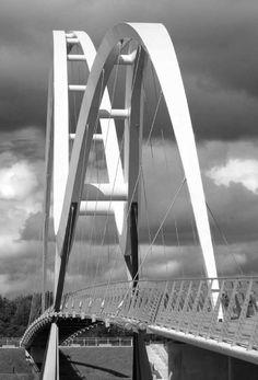 Infinity Bridge, Stockton-on-Tees, UK