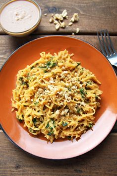 Thai Peanut Sauce Spaghetti Squash | 31 Delicious Things To Cook In December