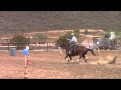 Kenda and Sparky on a Cowboy Mounting Shooting Drill
