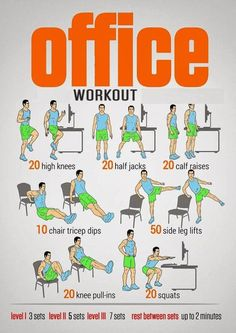 office chair exercises for stomach office workout hour fitness office chair ab exercises Standing Ab Exercises, Standing Abs, Desk Workout, Workout At Work, Hotel Room Workout, Workout Plans, Fitness Tips, Fitness Motivation, Health Fitness
