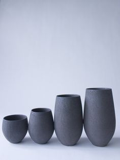 Black Tamago Cup Debu - RYOTA AOKI POTTERY ONLINE STORE