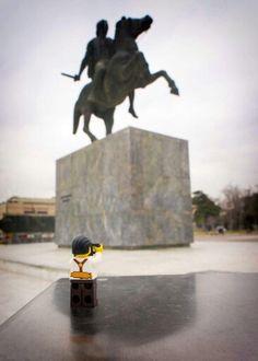 Alexander The Great Statue Thessaloniki